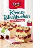 Kathi - Kleiner Blechkuchen Kirsch Pudding 400g