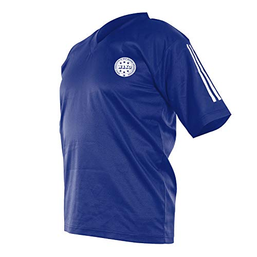 adidas Point Fighting Micro Diamond Kickbox Shirt blau, 90 Preisvergleich