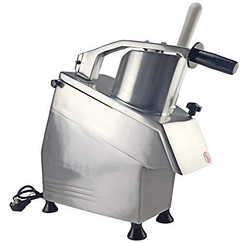 Affettatrice elettrica commerciale professionale della grattugia della macchina della trinciatrice dell'acciaio inossidabile della taglierina della verdura della macchina della taglierina di verdure