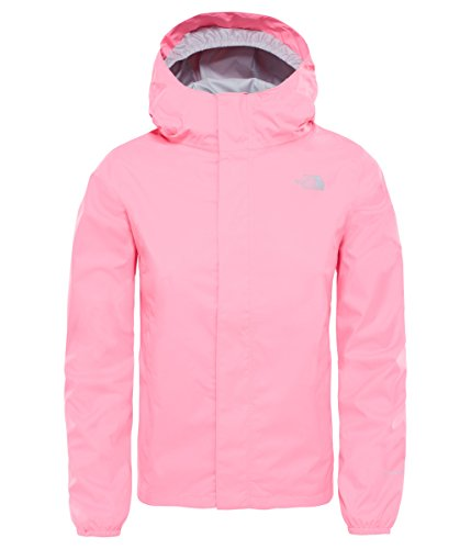 The North Face G Resolve Reflective Jacke, Mädchen XS Rosa