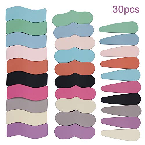 30 Stücke Candy Farbe Haarspangen Haarnadel Seitenclip Frauen Mädchen BB Hair Grip Haarschmuck (Candy Farbe)