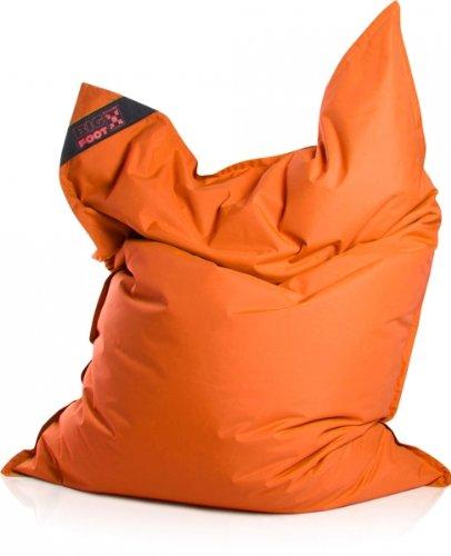 Sitzsack Scuba Big Foot 130x170cm orange (Outdoor)