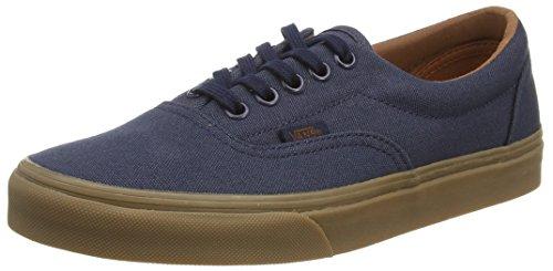 Vans  U ERA GUMSOLE,  Unisex-Erwachsene Sneaker Blau - Bleu - Blue (Gumsole - Blue Nights/Medium Gum)