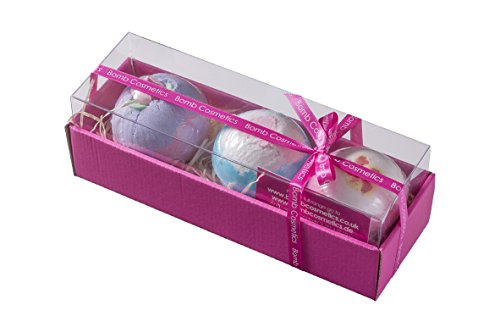 Bomb Cosmetics Set da regalo con 3 bombe da bagno