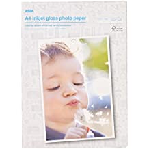 2550100200hojas A4Premium brillo papel fotográfico 180g/m² de inyección de tinta Impresoras