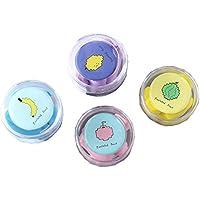 Preisvergleich für 4 PCS zufällige Farbe schöne Boxen und zufällige Farbe Ohrstöpsel für Gehörschutz, A