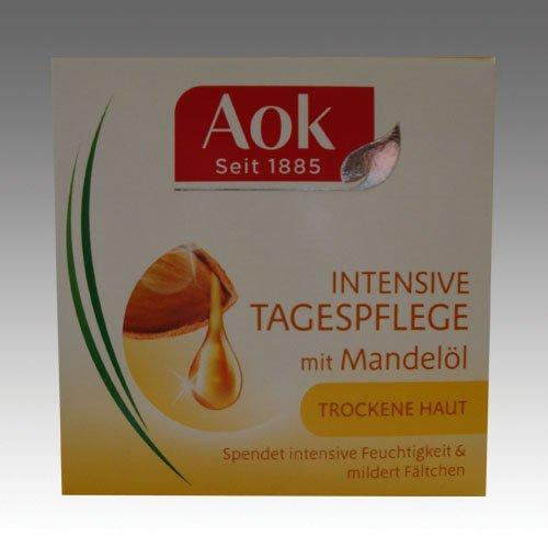 AOK Pur Nutrition/ mit Mandel-Öl/ intensive Tagespflege/ für trockene Haut/ Gesichtspflege/ 50ml