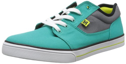 DC Shoes Bristol Canvas B Shoe Br, Baskets mode garçon Bleu