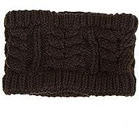 Maglieria di lana fascia Cap- iParaAiluRy unisex Cappello Copricapo moda morbide Cannabis protezione calda in inverno e primavera - Angelo Visiera Clip