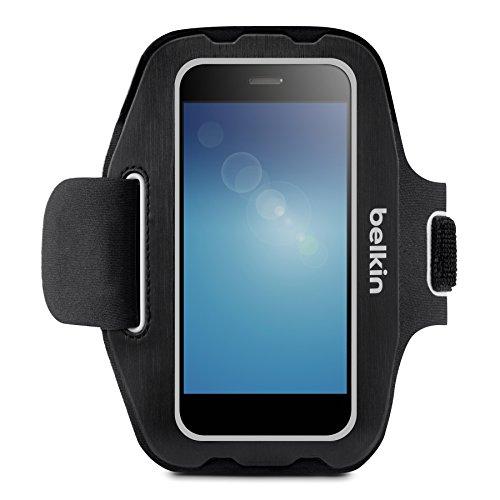 """Belkin Sport Fit F8M952btC00 Universal 5"""" - Fundas para teléfonos móviles Negro Compatible con Samsung Galaxy S7 y S7 Edge"""