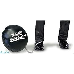 Idea Regalo - Palla al piede gonfiabile Un altro condannato addio al celibato *08991