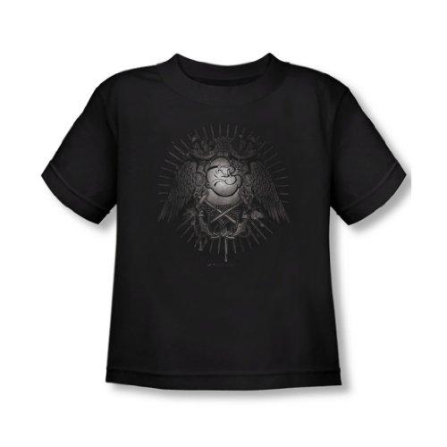 popeye-sailor-heraldik-kleinkind-t-shirt-in-schwarz-4t-black