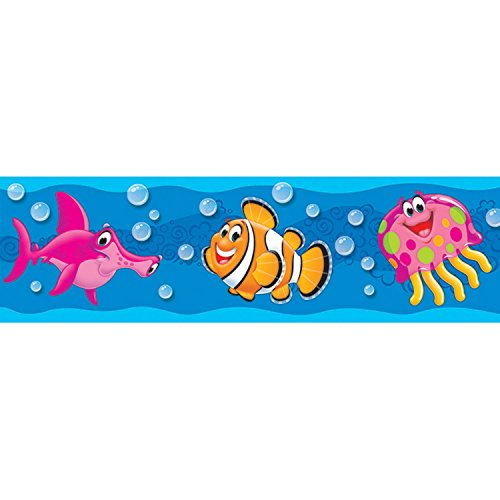 Sea Buddies Classroom Display Board Trimmers