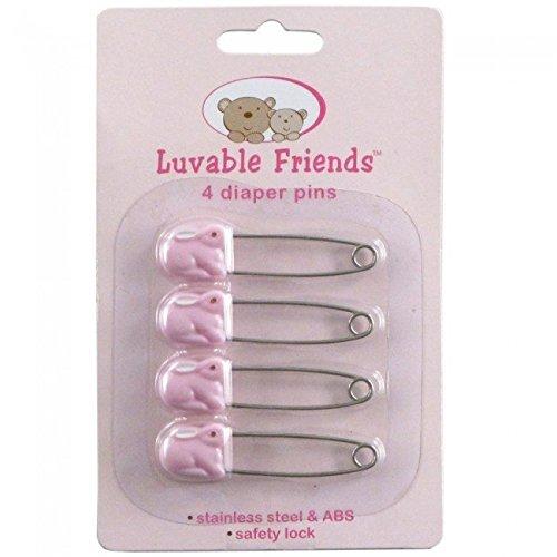 Luvable Friends Lot de 4épingles