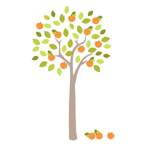 Obstgarten Baum Wandtattoo von Stickerscape - Wandaufkleber (Großes Größe)