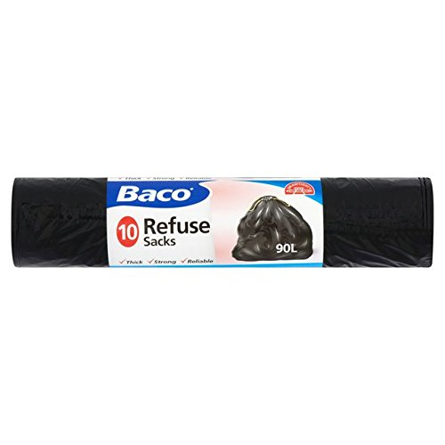 Baco Draw String Refuse Sacks 90 Litre 10 per pack