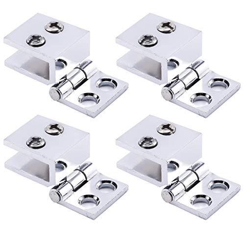 41oV9XHUDxL - SurePromise - Juego de bisagras para puerta de cristal (4 unidades, 5 mm-8 mm, rectángulo, ajustables)