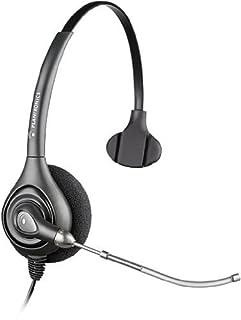 Plantronics SupraPlus HW251/A Wideband Monaural Voice Tube Headset - Black (B000XGU63C)   Amazon price tracker / tracking, Amazon price history charts, Amazon price watches, Amazon price drop alerts