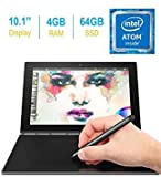 2017 Lenovo Yoga Book 10.1-inch FHD Touch IPS 2-in-1 Tablet PC - Gunmetal Grey