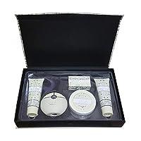 Awsaf Al Hubb Gift set with- Parfum 100ml, Body Lotion, Shower gel, Soap & Powder