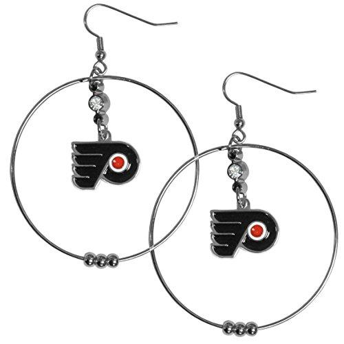NHL Philadelphia Flyers Hoop Earrings