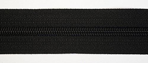 5 m Reißverschluss endlos, 24 mm breit, Auswahl aus 40 Farben