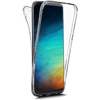 QPOLLY 360 Grad Hülle Kompatibel mit Samsung Galaxy A40