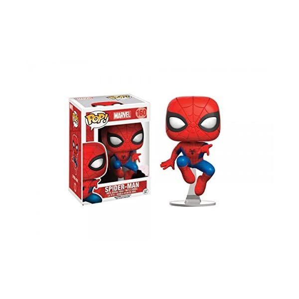 Funko Pop Marvel Collector Corps Spider-Man Exclusive Action Pose Figure … 1