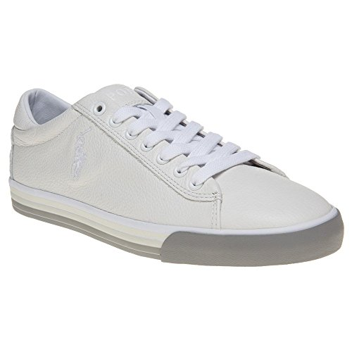 Polo Ralph Lauren Harvey Homme Baskets Mode Blanc