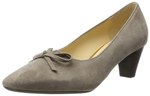 Gabor Shoes Women's Basic Closed-Toe Pumps, Beige (Kiesel), 7 UK
