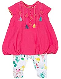 Catimini Baby Girls' Robe MC+Legging Party Dress