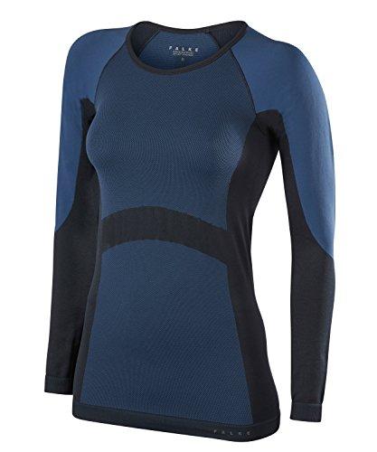 FALKE Damen Simplicity Shirt, Blau (nautica), S Preisvergleich