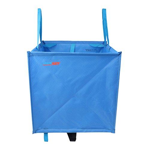 Sharplace Seilsack für Kletterseil Bergseile, Seiltasche - Blau