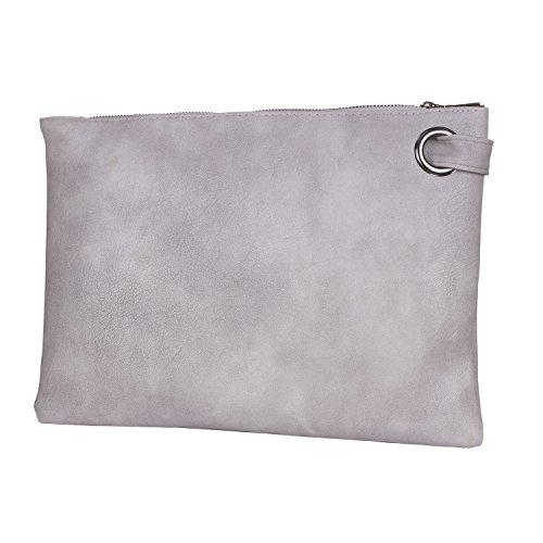 ZOONAI, Poschette giorno donna grigio Gray