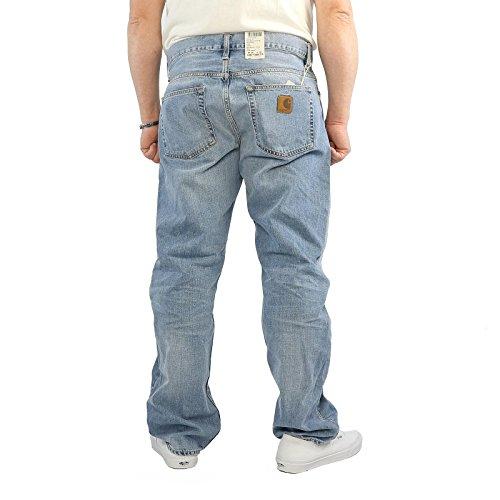 Jeans Carhartt Davies Pant blue burst Blue Burst