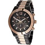 Michael Kors MK8208 - Reloj para hombre con correa de acero, color negro / gris