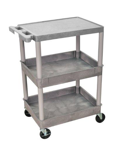 Luxor STC211-G utility-carts (Blau Utility Shelf)