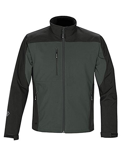 Edge Softshell Jacket Graphite-Black
