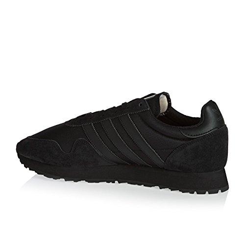 adidas Haven, Baskets Basses Mixte Adulte Noir (Negbas / Negbas / Negbas)