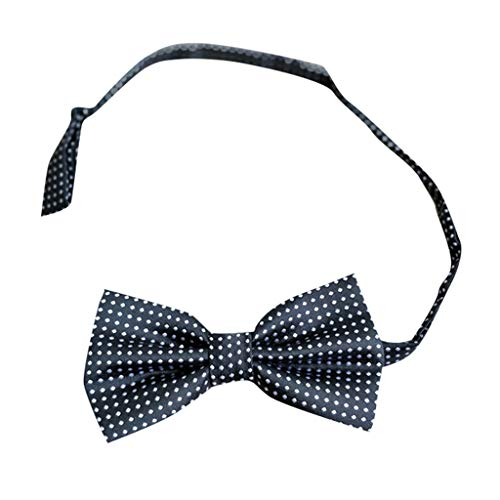 Goldatila Men's Ties, Cummerbunds & Pocket Squares Men's Business Dress Bow Tie Cotton Polka Dot Bow Tie Polka Dot Pretied Bow Tie