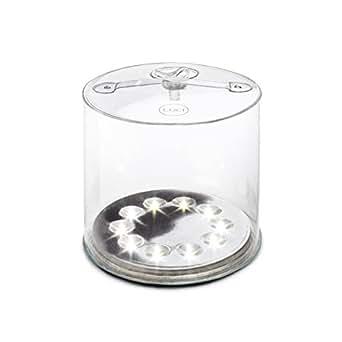 Luci by Mpowerd 1004 Lux Lampe solaire Plastique D'or 12,7 x 12,7 x 2,5 cm