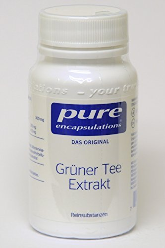 PURE ENCAPSULATIONS grüner Tee Extrakt Kapseln 60 St Kapseln