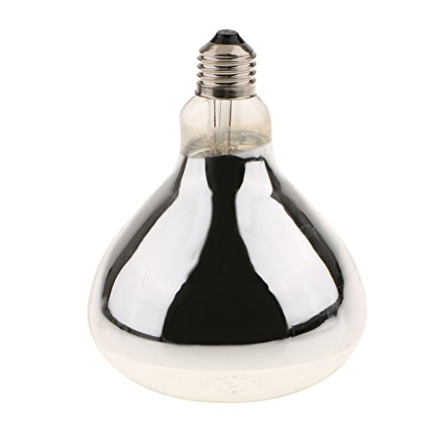 Gazechimp Superhelle E27 Wärmestrahler, Wärmelampe und Strahler - Beleuchtung für Terrarium Terrarien Lampe - Leistung Wahl - Typ 1 - 100W -