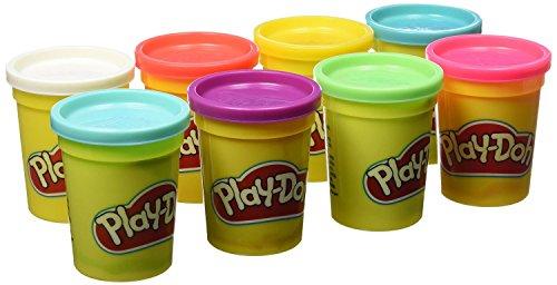 Play-Doh Pack 4 +4 botes (Hasbro B6753EU4)
