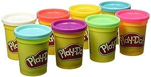 Play-Doh - Pack 8 botes (Hasbro B6753EU4)