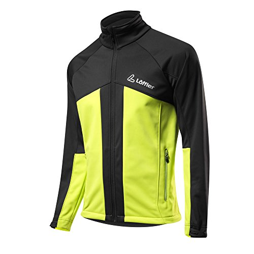 Löffler Teamline WS Softshell-Warm Jacket - light green