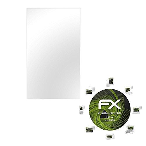 atFoliX Displayfolie kompatibel mit LG 42LD420 Spiegelfolie, Spiegeleffekt FX Schutzfolie