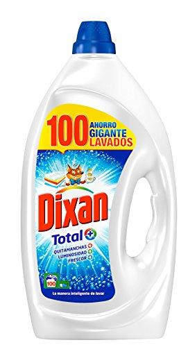 Dixan Detergente Gel Total - 100 Lavados