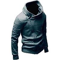 Malloom® Hombres chaqueta coreana Slim Fit suéter con capucha Cardigan Abrigos capucha Outwear