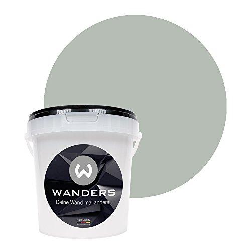 Wanders24 Pintura de pared pintura de pizarra mate (1 litro, Gris plum